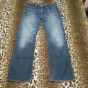 AEO low rise boot jeans